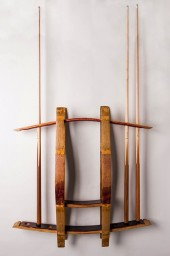 Napa Valley Pool Cue Wall Rack