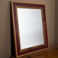 Rectangular Wine Barrel Mirror