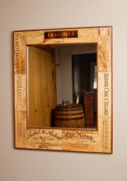 Napa Valley Wine Crate Mirror -Rectangular
