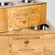 Cakebread Crate Pet Feeder