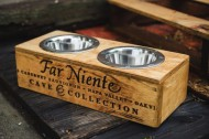 Far Niente Cave Collection Crate Pet Feeder