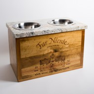 Far Niente Crate Granite Pet Feeder