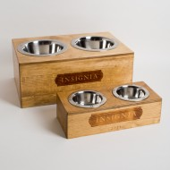 Insignia Wine Crate Pet Feeder