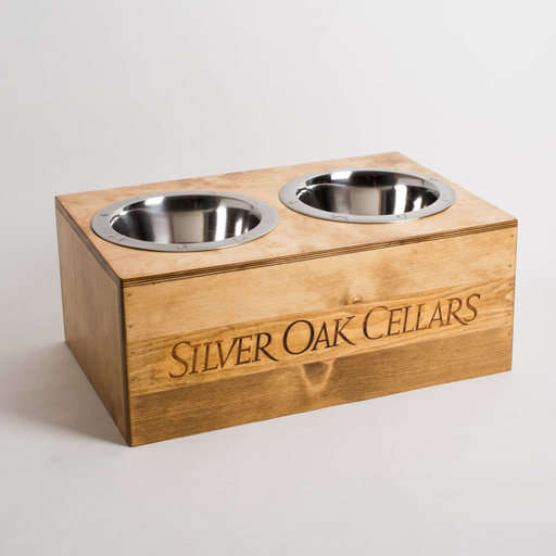 Pet Feeder, SILVER OAK, Large and XL