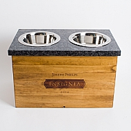 Insignia Crate Granite Pet Feeder