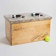 Opus Crate Granite Pet Feeder