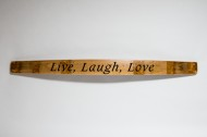 Live, Laugh, Love Sign