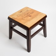 Cakebread Crate Step Stool featuring Dancing Bear Ranch