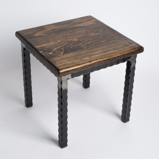 Step Stool, CAYMUS. Metal Base, Provincial