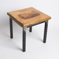 Chateau Montelena Crate Step Stool -Metal