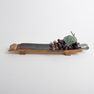 Handled Napa Barrel Appetizer Board