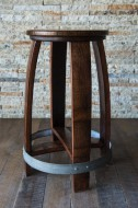 Barrel Head Barstool
