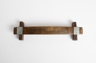 Small Barrel Stave Bath Towel Rack