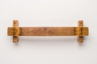 Small Towel Rack, Natural Stain