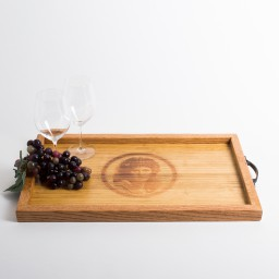 Tray, BOND, Image, Oak Sides, Golden Oak
