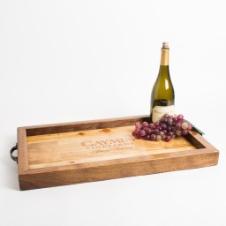 Tray, CAYMUS, Walnut Sides, Golden Oak