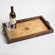 Bennett Lane Crate Tray with Walnut Sides