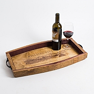 Hillside Select Crate Tray, Wine Stave Sides