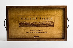 Tray, HILLSIDE SELECT SHAFER, Walnut Sides, Golden Oak