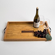 Insignia Leaf Crate Tray