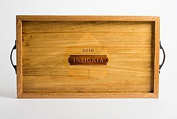 Tray, INSIGNIA LEAF, Oak Sides, Golden Oak