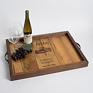 Jordan Wine Crate Tray