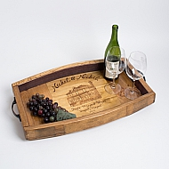Nickel & Nickel Crate Tray, Wine Stave Sides