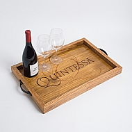 Quintessa Crate Tray with Oak Sides