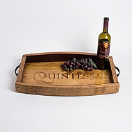 Quintessa Crate Tray with Stave Sides