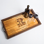 Silver Oak Collector Edition Crate Tray