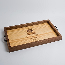 Tray, SILVER OAK COLLECTOR EDITION, Walnut Sides, Natural