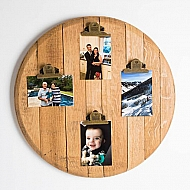 Barrel Top Photo Display