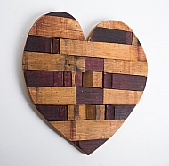 Wine Stave Heart