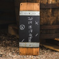 Wine Barrel Score Board