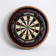 Wine Barrel Dartboard