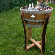 Wine Barrel Beverage Chiller
