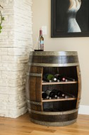 Wine Barrel Storage Cabinet