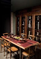 Wine Stave Dining Table